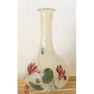 Vase verre opaque vintage...
