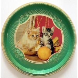 Plateau vintage chatons en...