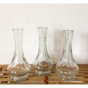 3 Vases Carafes vintage en...