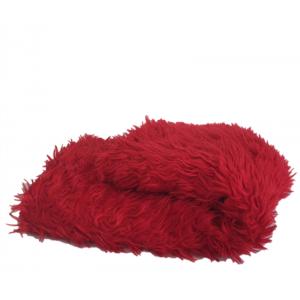 Coupon moumoute 70's rouge
