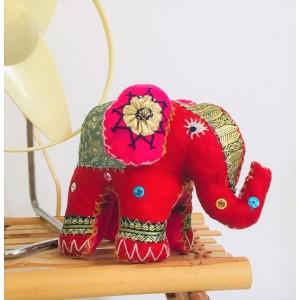 Elephant indien en tissu...