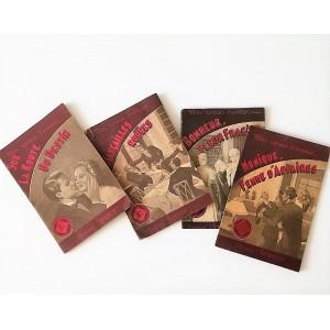 4 livres Mon roman d'amour...