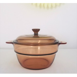 Cocotte VISION Corning 80's...