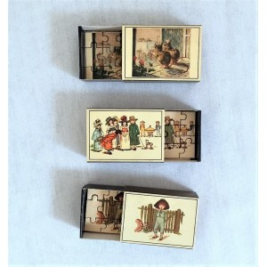 3 mini puzzles Merrimack...