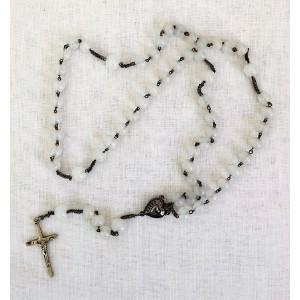Chapelet ancien perles nacre