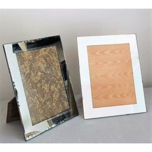 Cadres photo miroir anciens