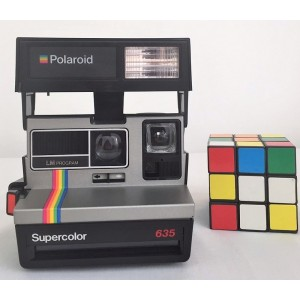 Polaroid Supercolor vintage