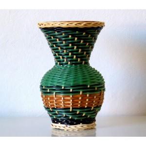 Vase Scoubidou & terre...